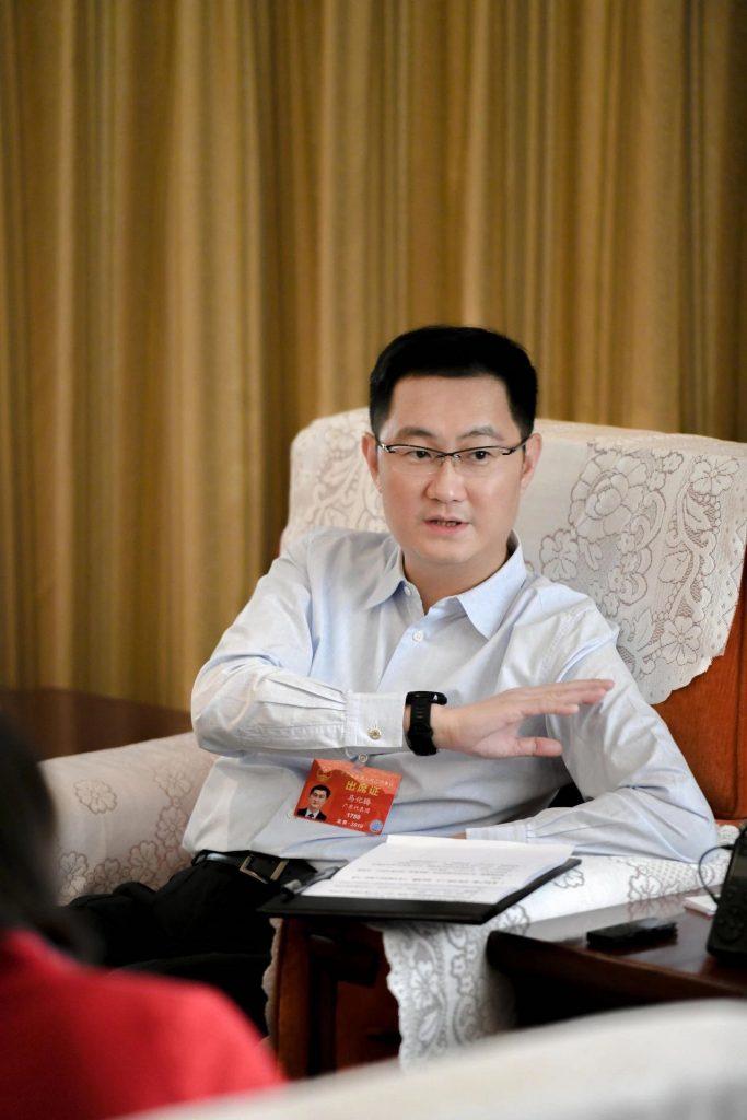 最新|全国人大代表马化腾的建言:加快发展产业互联网