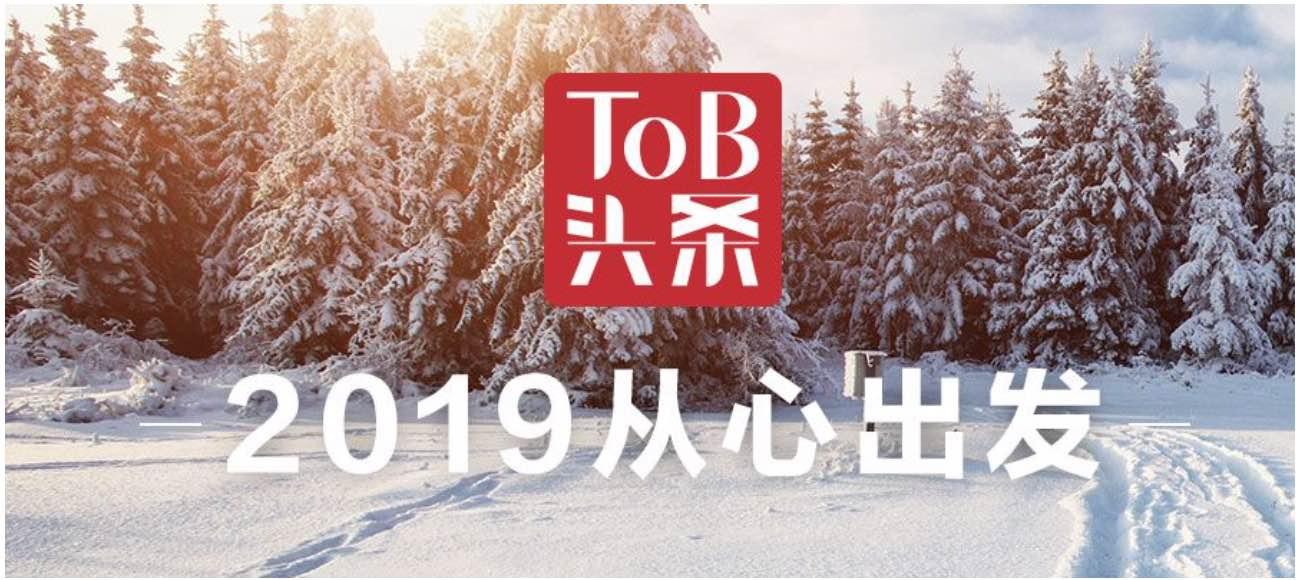2019,ToB再出发