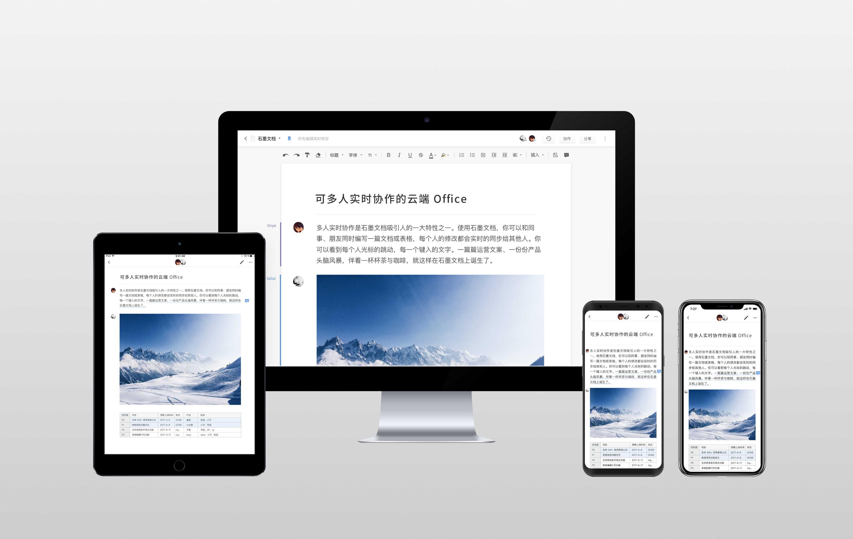 【ToB快讯】石墨文档完成 B+ 轮数千万美金融资,持续打造新一代云端 Office 软件